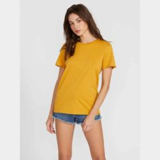 Volcom Womens Solid Short Sleeve Tee Dij. Volcom Tees found in Womens Tees & Womens T-shirts & Singlets. Code: B3541876
