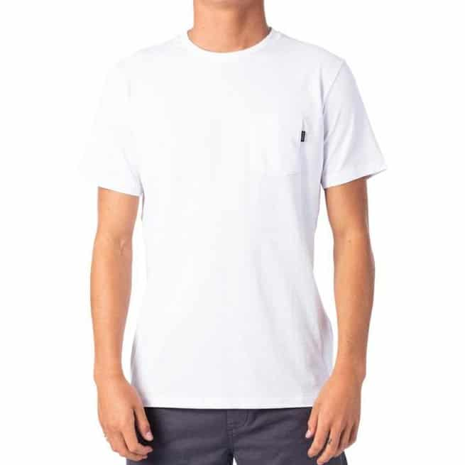 Rip Curl Plain Pocket Tee White. Rip Curl Tees found in Mens Tees & Mens T-shirts & Singlets. Code: CTESY2