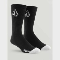 Volcom Full Stone Sock 3pk Blk. Volcom Socks, Underwear, Pyjamas in Mens Socks, Underwear, Pyjamas & Mens Footwear. Code: D6321800