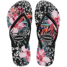 Havaianas Kids Slim Animal Floral Black. Havaianas Thongs found in Girls Thongs & Girls Footwear. Code: HKSL3544K