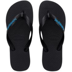 Havaianas Rubber Logo Black/blue Blkbl. Havaianas Thongs found in Mens Thongs & Mens Footwear. Code: HRLL2689M