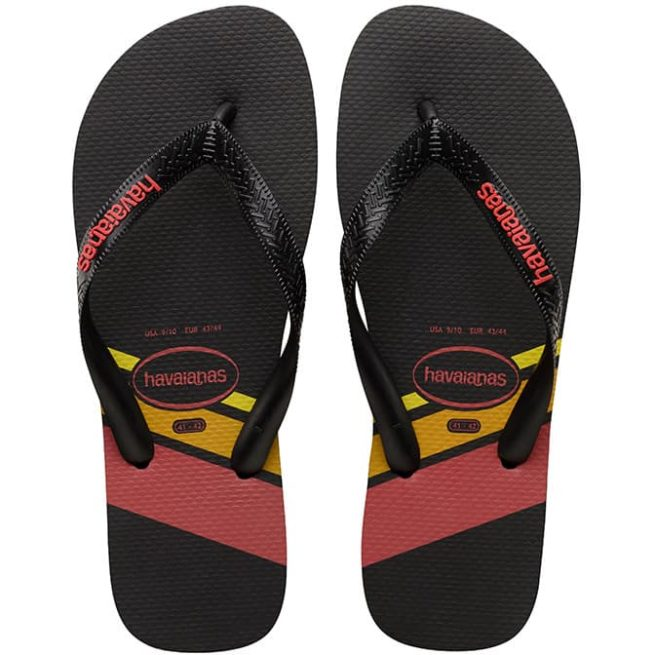 Havaianas Trend Black Black Ruby Rd Blkrb. Havaianas Thongs in Mens Thongs & Mens Footwear. Code: HTPT7652M