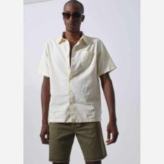 Afends Day To Day Hemp Short Sleeve Shirt Nat. Afends Shirts - Short Sleeve found in Mens Shirts - Short Sleeve & Mens Shirts. Code: M194213