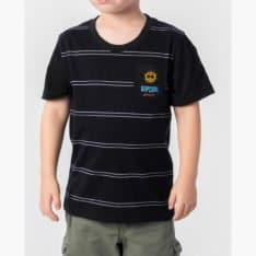 Rip Curl Jaws Stripe Tee - Groms Black. Rip Curl Tees found in Toddlers Tees & Toddlers T-shirts & Singlets. Code: OTEVX2