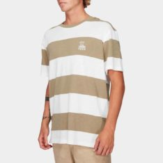 Rvca Records Stripe Short Sleeve Tee Dyl. Rvca Tees found in Mens Tees & Mens T-shirts & Singlets. Code: R192047