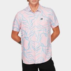 Rvca Paradiso Palm Short Sleeve Shirt Baf. Rvca Shirts - Short Sleeve found in Mens Shirts - Short Sleeve & Mens Shirts. Code: R192182