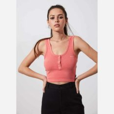 Afends Freya Singlet Peach. Afends Singlets & Tanks found in Womens Singlets & Tanks & Womens T-shirts & Singlets. Code: W194099