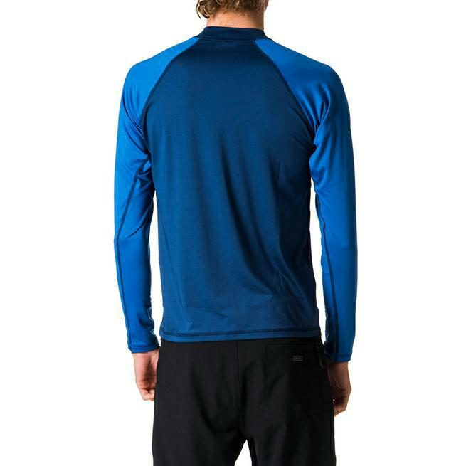 Rip Curl Shockwave Relaxed Long Sleeve Uvt Blue. Rip Curl Rashvests in Mens Rashvests & Mens Wetsuits. Code: WLY7MM