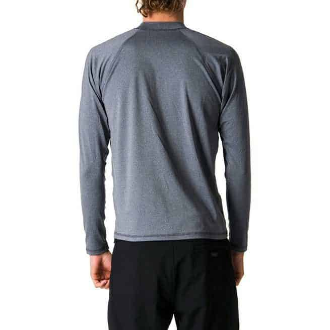 Rip Curl Shockwave Relaxed Long Sleeve Uvt Grey Marle. Rip Curl Rashvests in Mens Rashvests & Mens Wetsuits. Code: WLY7MM