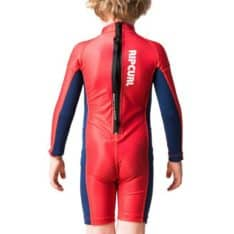 Rip Curl Grom Boys L/sl Uv Spring Red. Rip Curl Rashvests found in Toddlers Rashvests & Toddlers Wetsuits. Code: WLY8GO