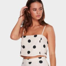 Billabong Aurora Spot Cami Top Whisper. Billabong Fashion Tops found in Womens Fashion Tops & Womens Tops. Code: 6592097