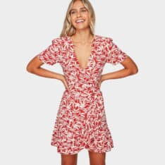 Billabong Fallen Palm Wrap Dress Redrock. Billabong Dresses found in Womens Dresses & Womens Skirts, Dresses & Jumpsuits. Code: 6592473