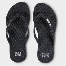 Billabong Kick Back Thong Black 2. Billabong Thongs in Womens Thongs & Womens Footwear. Code: 6661856