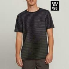 Volcom Stories Crew Black. Volcom Tees in Mens Tees & Mens T-shirts & Singlets. Code: A01118R0