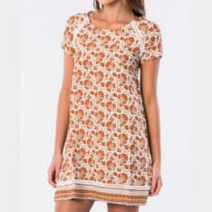 Rip Curl Spice Temple Shift Dress Orange. Rip Curl Dresses in Womens Dresses & Womens Skirts, Dresses & Jumpsuits. Code: GDRIA1