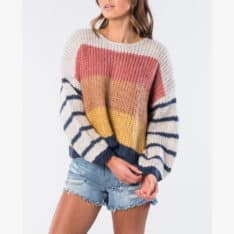 Rip Curl Sunset Glow Crew Multico. Rip Curl Knitwears in Womens Knitwears & Womens Jackets, Jumpers & Knits. Code: GSWBS8