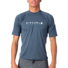Rip Curl Shockwave Relaxed Short Sleeve Uvt Navy Marle. Rip Curl Rashvests in Mens Rashvests & Mens Wetsuits. Code: WLY7NM