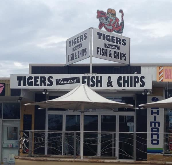 Tigers Famous Fish and Chips Shop Ulladulla