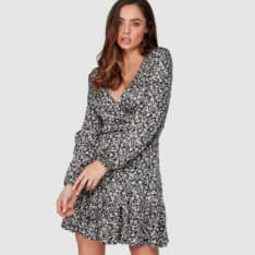 Billabong Chantal Wrap Dres Off Black. Billabong Dresses in Womens Dresses & Womens Skirts, Dresses & Jumpsuits. Code: 6507482