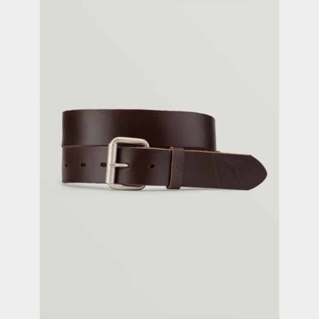 Volcom Straight Leather Belt Brown. Volcom Belts in Mens Belts & Mens Accessories. Code: D5912051
