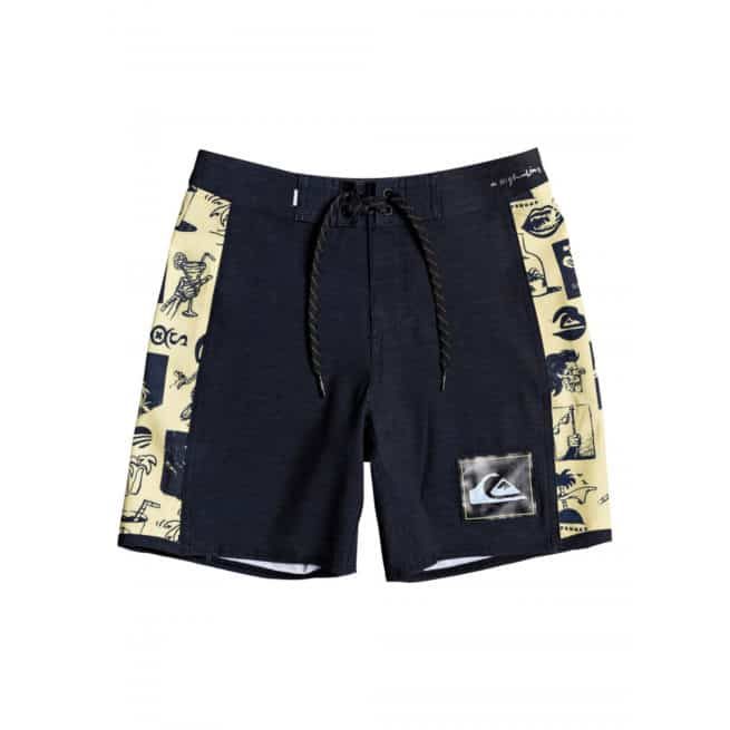Quiksilver Highline Strange Patt Youth Black. Quiksilver Boardshorts - Fitted Waist in Toddlers Boardshorts - Fitted Waist & Toddlers Shorts. Code: EQBBS03433