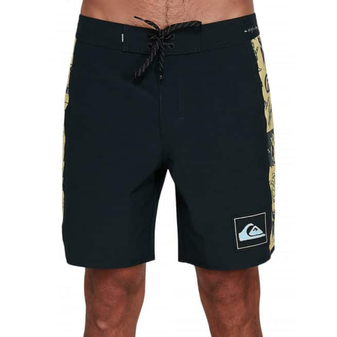Quiksilver Highline Strange Patterns Black. Quiksilver Boardshorts - Fitted Waist in Mens Boardshorts - Fitted Waist & Mens Shorts. Code: EQYBS04258
