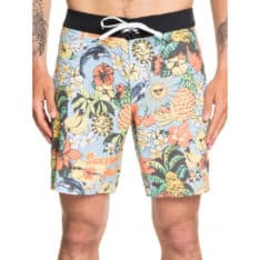 Quiksilver Highline Hot Tropics 18 F Airy Blue. Quiksilver Boardshorts - Fitted Waist in Mens Boardshorts - Fitted Waist & Mens Shorts. Code: EQYBS04283