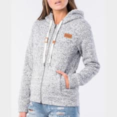 Rip Curl Full Moon Ii Zip Through Hoody Light Grey Heather. Rip Curl Hoodies in Womens Hoodies & Womens Jackets, Jumpers & Knits. Code: GFEJW1