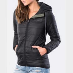 Rip Curl The Search Ii Puffer Jacket Black. Rip Curl Jackets in Womens Jackets & Womens Jackets, Jumpers & Knits. Code: GJKDY1