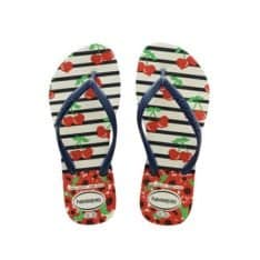 Havaianas Kids Slim Fashion Wht/nv White/navy Blue. Havaianas Thongs in Toddlers Thongs & Toddlers Footwear. Code: HKSF0052T