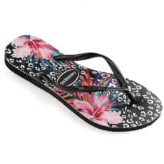 Havaianas Slim Animal Floral Black Black. Havaianas Thongs in Womens Thongs & Womens Footwear. Code: HSPL0091F