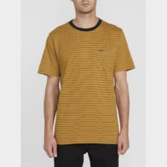 Volcom Stories Crew Bronze. Volcom Tees in Mens Tees & Mens T-shirts & Singlets. Code: A01118R0+