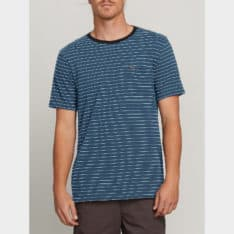Volcom Stories Crew Deep Blue. Volcom Tees in Mens Tees & Mens T-shirts & Singlets. Code: A01118R0