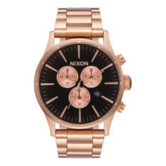 Nixon Sentry Chronograph All Rose Gl All Rose Gold / Blac. Nixon Watches in Mens Watches & Mens Watches. Code: A3861932