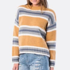 Rip Curl Cosy Outdoors Crew Swtr Apple Cinnamon. Rip Curl Knitwears in Womens Knitwears & Womens Jackets, Jumpers & Knits. Code: GSWFO4