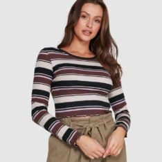 Billabong Somebody New Top Nutmeg. Billabong Fashion Tops in Womens Fashion Tops & Womens Tops. Code: 6508131