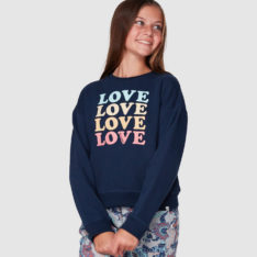 Billabong Love Crew Black Iris. Billabong Sweats in Girls Sweats & Girls Jackets, Jumpers & Knits. Code: 5507734
