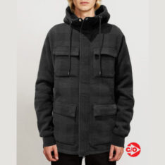 Volcom A4 Bonded Zip Dark Charcoal. Volcom Jackets in Mens Jackets & Mens Jackets, Jumpers & Knits. Code: A5812000