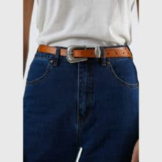 Afends Salon Leather Belt Tan. Afends Belts in Womens Belts & Womens Accessories. Code: A202693