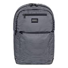 Roxy Here You Are Printed Anthracite Me Stripe. Roxy Backpacks in Womens Backpacks & Womens Bags. Code: ERJBP04159