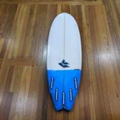 Used Second Hand Surfboard Vj Wingnut 5.8 (fins) Na. Used Second Hand Surfboards in Boardsports Second Hand Surfboards & Boardsports Surf. Code: RCUSH585
