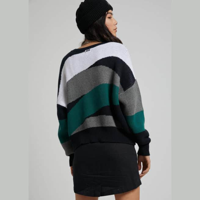 Afends Ashley Knit Crew Multi. Afends Knitwears in Womens Knitwears & Womens Jackets, Jumpers & Knits. Code: W202560