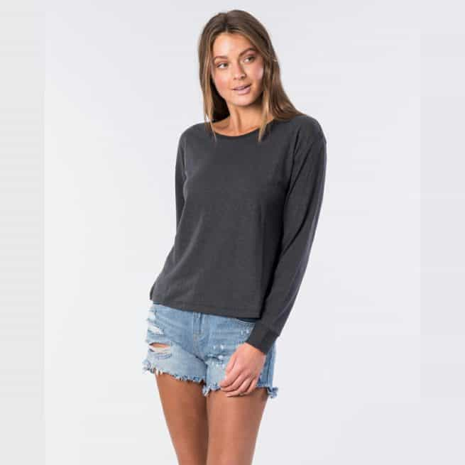 Rip Curl Hemp Long Sleeve Tee Black. Rip Curl Tees - Long Sleeve in Womens Tees - Long Sleeve & Womens T-shirts & Singlets. Code: GTEIN9