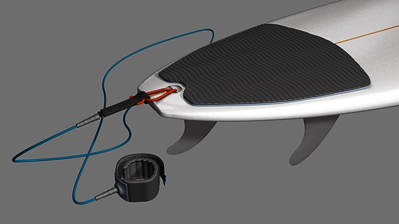 funboard with tail pad