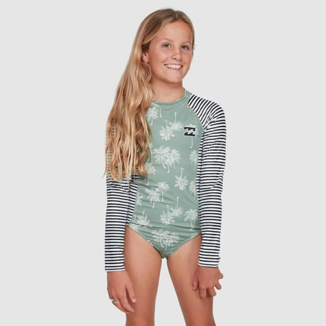 Billabong Take It Easy Onep Sunshir Olive. Billabong Rashvests in Girls Rashvests & Girls Wetsuits. Code: 5703010