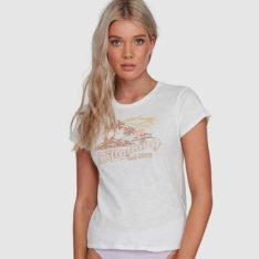 Billabong Eco Island Fitted Tee Cool Wip. Billabong Tees in Womens Tees & Womens T-shirts & Singlets. Code: 6503013