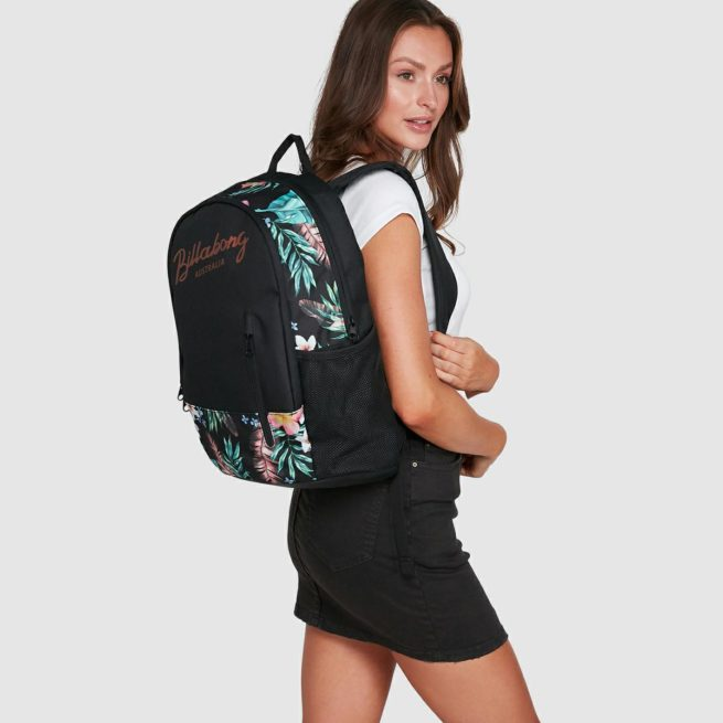 Billabong Eden Tao Backpack Black. Billabong Backpacks in Womens Backpacks & Womens Bags. Code: 6603003