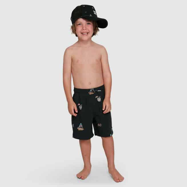 Billabong Groms Sundays Layback Black Multi. Billabong Boardshorts - Fitted Waist in Toddlers Boardshorts - Fitted Waist & Toddlers Shorts. Code: 7503438