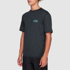 Billabong Shoreline Loose Fit Short Sleeve Rashie Black Heathe. Billabong Rashvests in Mens Rashvests & Mens Wetsuits. Code: 9707505
