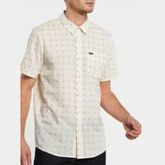 Volcom Milton Short Sleeve Shirt Primer White. Volcom Shirts - Short Sleeve in Mens Shirts - Short Sleeve & Mens Shirts. Code: A0432006